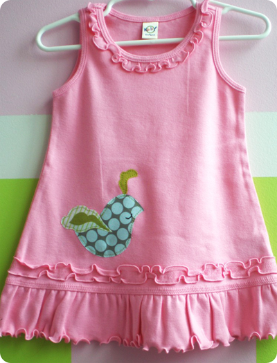 Quail Tank Dress - Pink